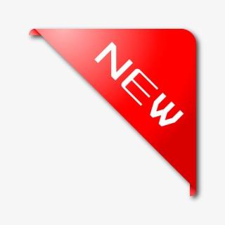 红色新品角标