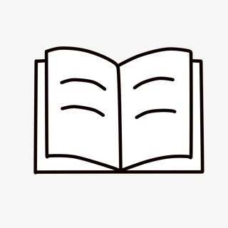 简约书手绘图标
