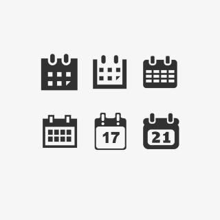 网站图标app图标日历图标日期图标时间图标
