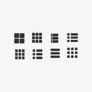 APP图标网站图标商务图标分类图标菜单