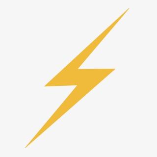 黄色闪电图标