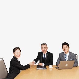 商务女性求职面试