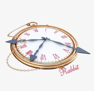 抽象唯美促销活动可爱时钟表