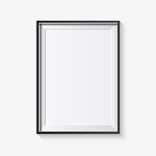 简约欧式画框素材