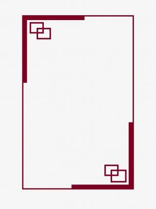 中国风复古边框pngz下载