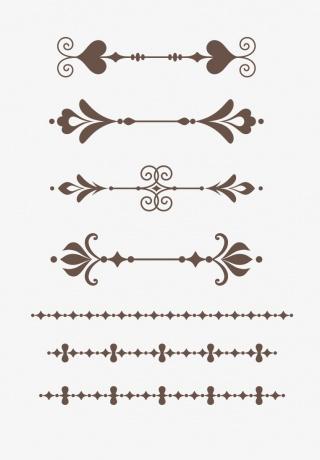 欧式复古边框
