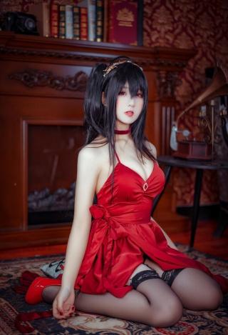 碧蓝航线cos图片动漫美女大凤cos写真