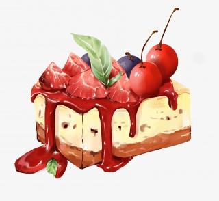 手绘 · 甜品蛋糕