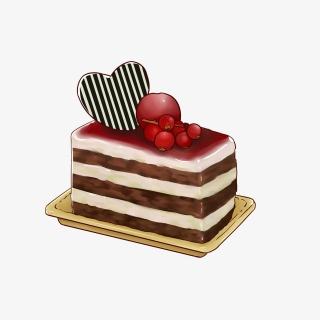 七夕节情人节巧克力手绘蛋糕
