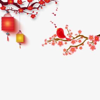 春节灯笼素材