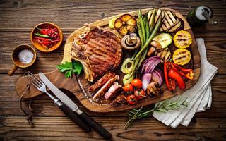 肉类美食高清桌面壁纸图片