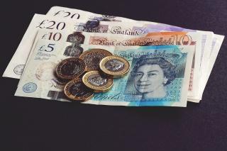 英镑纸币硬币图片