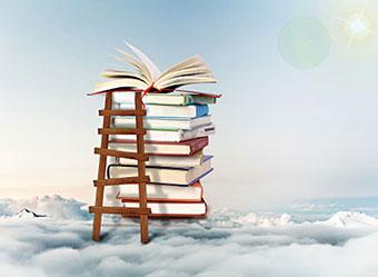 阶梯爬上教育的云端