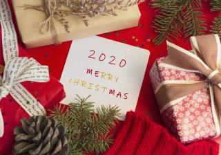 圣诞节跨年背景摄影图