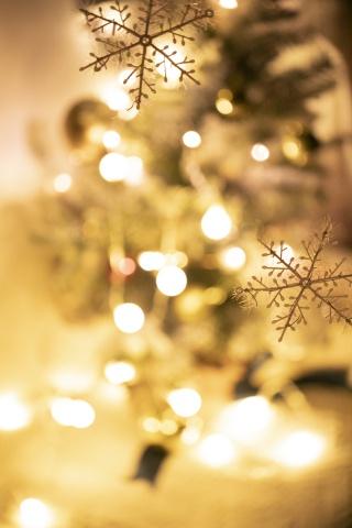 圣诞风背景