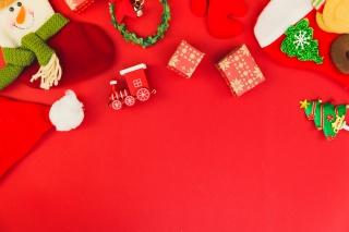 圣诞礼物圣诞背景圣诞饰品