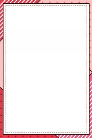 几何线条边框简约背景海报