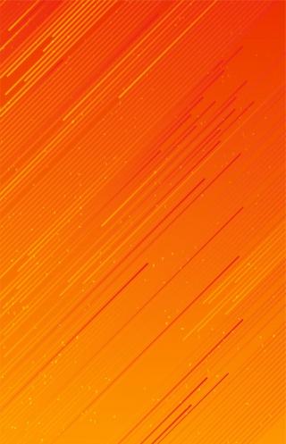 橙色纯色底纹纹理海报