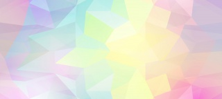 几何图形多边形炫彩渐变海报背景