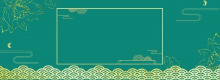 中国风简约描金电商海报背景