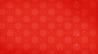 中国风红色花纹背景