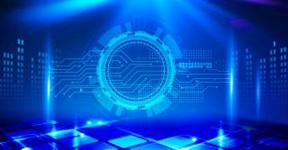 智能科技互联网数据背景