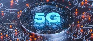 C4D简约科技商务通讯5G电商广告背景