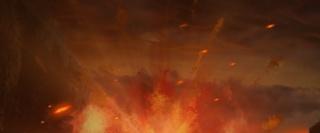 电竞比赛火焰网游PK赛背景海报