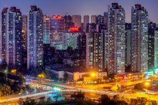武汉城市夜景风光