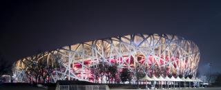 北京首都鸟巢体育馆高清图片