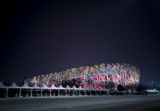北京鸟巢地标性建筑体育馆图片